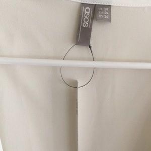 ASOS Curve Tops - Tie-back Drapey Blouse